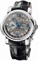 Replica Ulysse Nardin GMT +/- Perpetual 42mm Mens Wristwatch 320-60/69