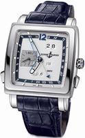 Replica Ulysse Nardin Quadrato Dual Time Perpetual Mens Wristwatch 320-90/61