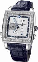 Replica Ulysse Nardin Quadrato Dual Time Perpetual Mens Wristwatch 320-90B/61