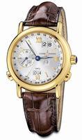 Replica Ulysse Nardin GMT +- Perpetual Mens Wristwatch 321-22-31