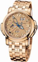Replica Ulysse Nardin GMT +/- Perpetual 42mm Mens Wristwatch 322-66-8