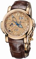 Replica Ulysse Nardin GMT +/- Perpetual 42mm Mens Wristwatch 322-66