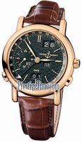 Replica Ulysse Nardin GMT +/- Perpetual 38.5mm Mens Wristwatch 326-22/92