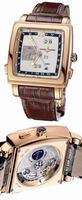 Replica Ulysse Nardin Quadrato Dual Time Perpetual Mens Wristwatch 326-90.61