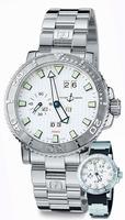 Replica Ulysse Nardin Marine Aqua Perpetual Mens Wristwatch 333-88-3