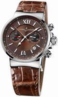 Replica Ulysse Nardin Maxi Marine Chronograph Mens Wristwatch 353-66/355