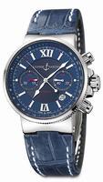 Replica Ulysse Nardin Maxi Marine Chronograph Mens Wristwatch 353-66.323