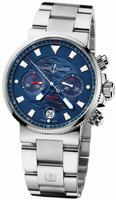 Replica Ulysse Nardin Blue Seal Chronograph - Limited Edition Mens Wristwatch 353-68LE-7