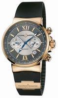 Replica Ulysse Nardin Maxi Marine Chronograph Mens Wristwatch 356-66-3.319