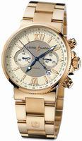 Replica Ulysse Nardin Maxi Marine Chronograph Mens Wristwatch 356-66-8/354