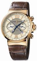 Replica Ulysse Nardin Maxi Marine Chronograph Mens Wristwatch 356-66.354