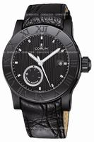 Replica Corum Romulus Black Mens Wristwatch 373.516.98-F221.BN75