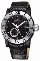 Replica Corum Romulus Black Mens Wristwatch 373.517.98-F221.BN75