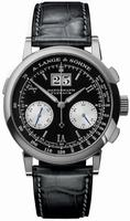 Replica A Lange & Sohne Datograph Flyback Mens Wristwatch 403.035