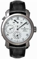Replica Vacheron Constantin Malte Dual Time Regulator Mens Wristwatch 42005-000G-8900