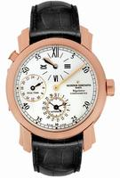 Replica Vacheron Constantin Malte Dual Time Regulator Mens Wristwatch 42005.000R-9068