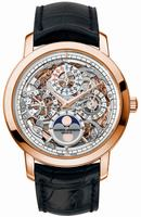 Replica Vacheron Constantin Traditionnelle Skeleton Perpetual Calendar Mens Wristwatch 43172.000R-9241