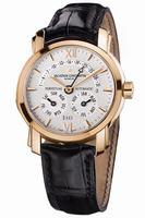 Replica Vacheron Constantin Perpetual Calendar Retrograde Mens Wristwatch 47031.000R-8955