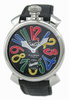 Replica GaGa Milano Manual 48mm Steel Men Wristwatch 5010.2.BK