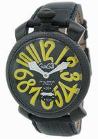 Replica GaGa Milano Manual 48mm Limited Edition Men Wristwatch 5016.2.BKBK