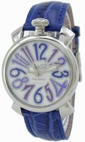 Replica GaGa Milano Manual 40mm Steel Unisex Wristwatch 5020.3.BL