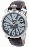 Replica GaGa Milano Manual 40mm Steel Unisex Wristwatch 5020.4.BR