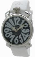 Replica GaGa Milano Manual 40mm Steel Unisex Wristwatch 5020.4.WH