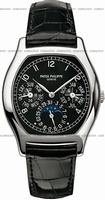 Replica Patek Philippe Complicated Perpetual Calendar Mens Wristwatch 5040G-016