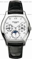 Replica Patek Philippe Complicated Perpetual Calendar Mens Wristwatch 5040G-018