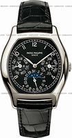 Replica Patek Philippe Complicated Perpetual Calendar Mens Wristwatch 5040P-013