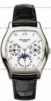 Replica Patek Philippe Complicated Perpetual Calendar Mens Wristwatch 5040P-014