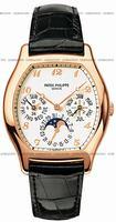 Replica Patek Philippe Complicated Perpetual Calendar Mens Wristwatch 5040R-017