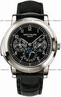 Replica Patek Philippe Chronograph Perpetual Calendar Mens Wristwatch 5074P