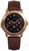 Replica Patek Philippe Chronograph Perpetual Calendar Mens Wristwatch 5074R