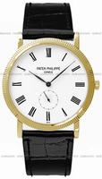 Replica Patek Philippe Calatrava Mens Wristwatch 5119J