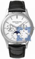 Replica Patek Philippe Complicated Perpetual Calendar Mens Wristwatch 5140G