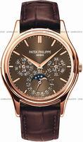 Replica Patek Philippe Complicated Perpetual Calendar Mens Wristwatch 5140R