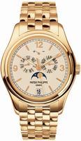 Replica Patek Philippe Complicated Annual Calendar Mens Wristwatch 5146-1J