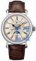 Replica Patek Philippe Perpetual Calendar Mens Wristwatch 5159G