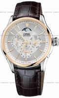 Replica Oris Artelier Complication Mens Wristwatch 581.7592.6351.LS