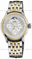 Replica Oris Artelier Complication Mens Wristwatch 581.7606.43.51.MB