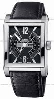 Replica Oris Rectangular Titan Mens Wristwatch 585.7622.7064.LS