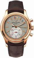 Replica Patek Philippe Calendar Mens Wristwatch 5960R