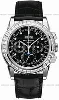 Replica Patek Philippe Chronograph Perpetual Calendar Mens Wristwatch 5971P