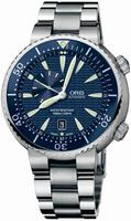 Replica Oris Divers Small Second Date Mens Wristwatch 643.7609.85.55.MB