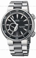 Replica Oris Divers Small Second Date Mens Wristwatch 643.7638.74.54.MB