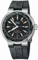 Replica Oris Divers GMT Mens Wristwatch 668.7608.84.54.RS