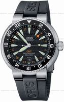 Replica Oris Divers GMT Date Mens Wristwatch 668.7639.84.54.RS