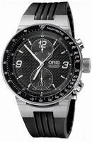Replica Oris WilliamsF1 Team Chronograph Mens Wristwatch 673.7563.41.84.RS