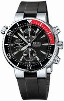 Replica Oris Diver Chronograph Mens Wristwatch 674.7599.71.54.RS